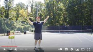 faster tennis serve